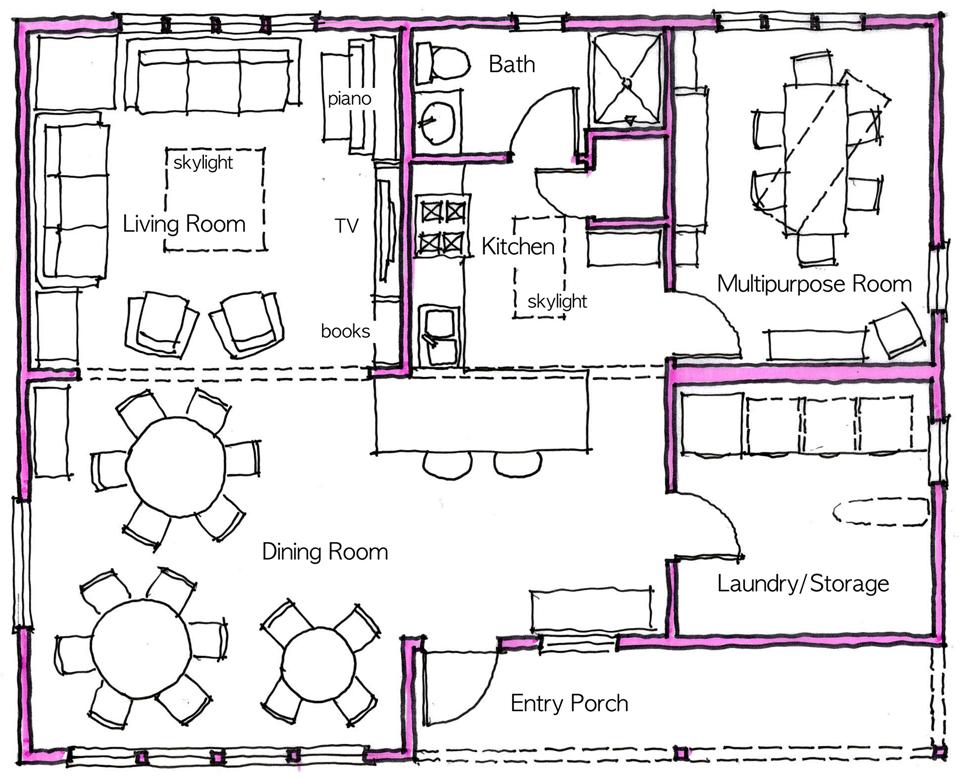 Common House Plan | Fifth Street Commons on wanted design, wind turbine design, malcolm x design, drake design, unity design,
