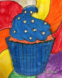 Cupcake drawing by Chloe