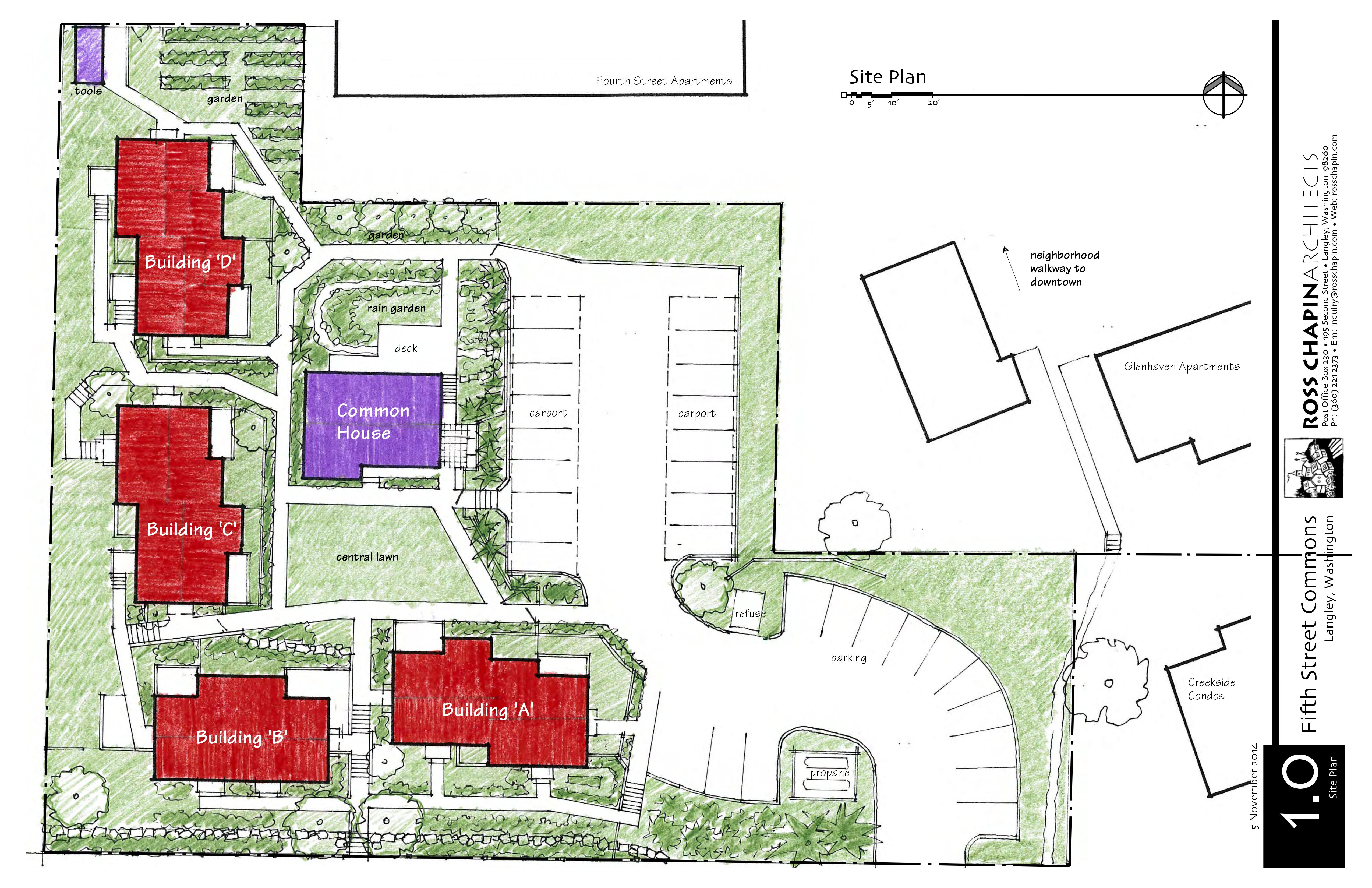 Site plan fifth street commons existing site plan ccuart Images